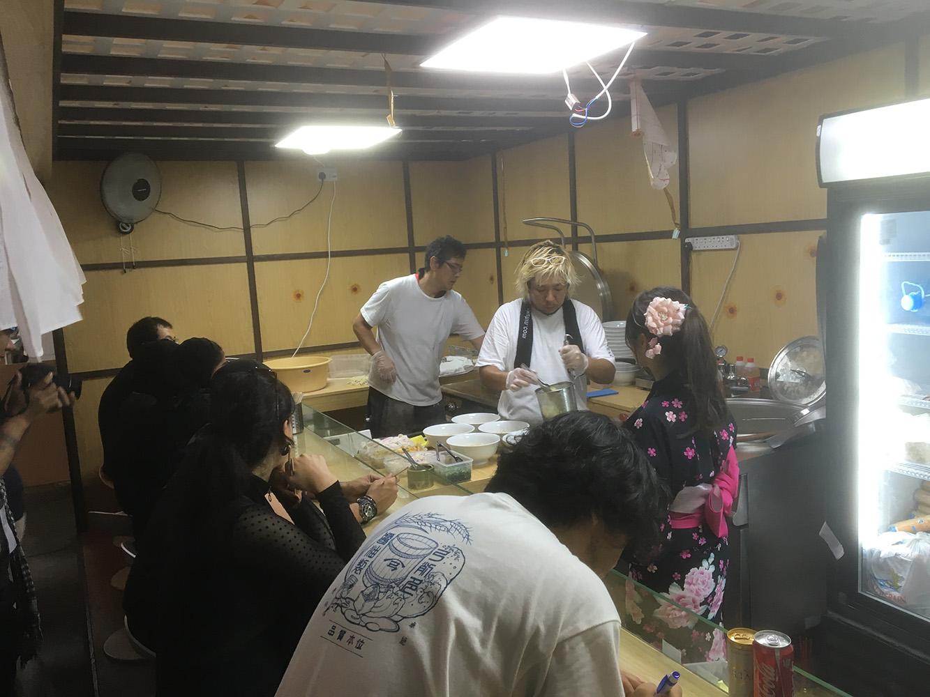 麺や七彩アブダビイベント出店